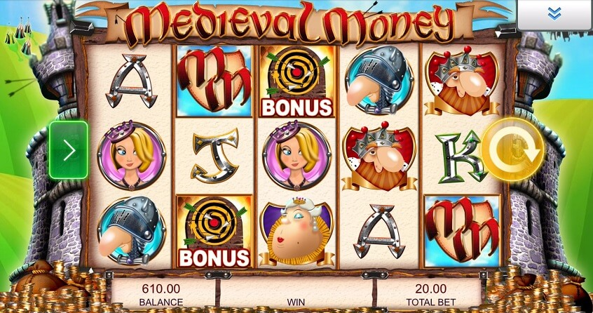 Snapshot from game: Medieval Money