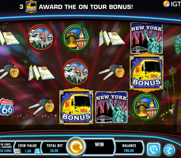 Screenshot of the game: Wheel of Fortune on Tour