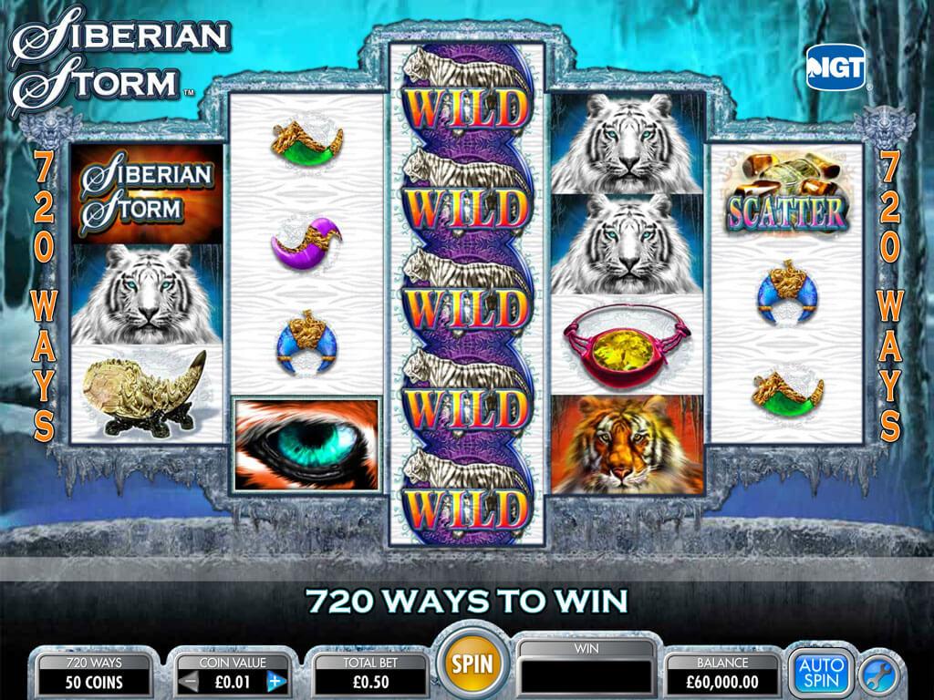 Screenshot from game: Siberian Storm