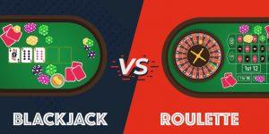 blackjack vs roulette