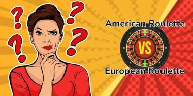 The difference between American Roulette and European Roulette