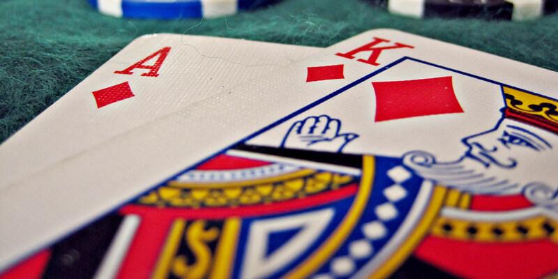 Blackjack hand 21