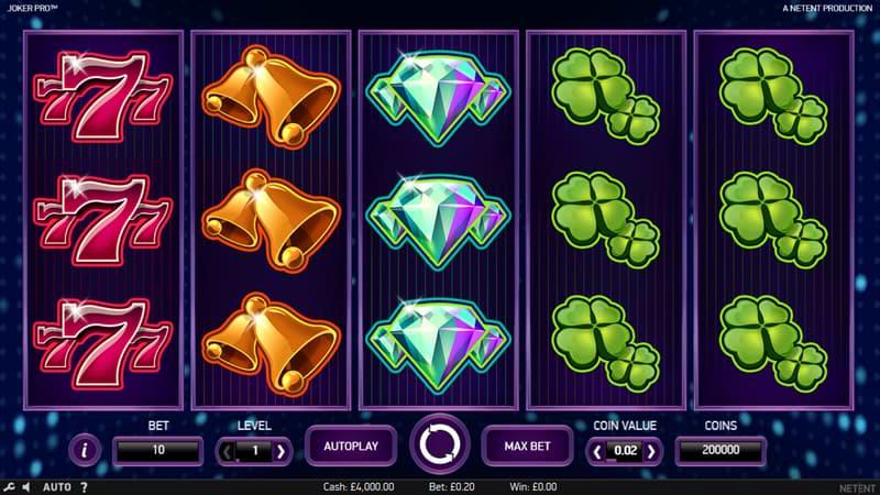 Joker Pro slot screenshot