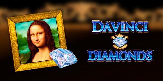 Da Vinci Diamonds slot game