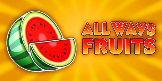 All Ways Fruits slot