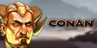 Conan slot machine by Netent