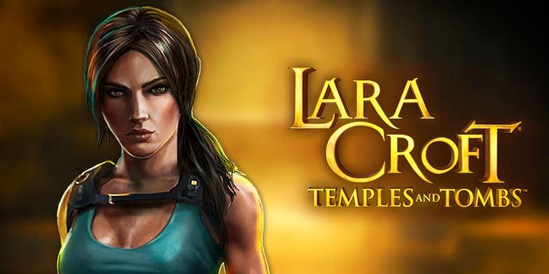 Lara Croft - Tempales and tombs slots machine game