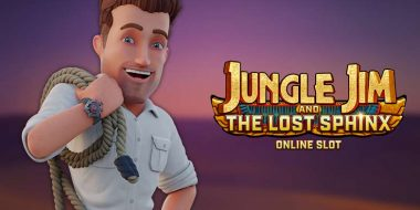Jungle Jim and the Lost Sphinx slot machine by Netent