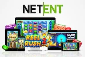 Reel Rush 2 slot machine on desktop and mobile