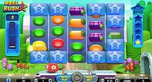 Screenshot of Reel Rush 2 slot machine