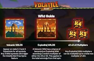 Wild on Volatile Slot