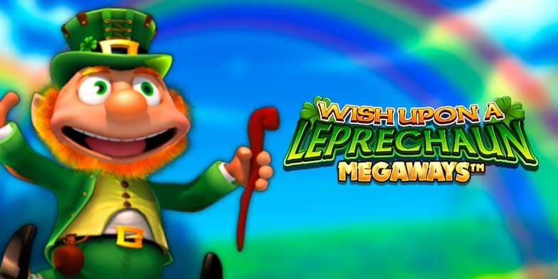Wish Upon a Leprechaun Megaways slot game by Blueprint Gaming
