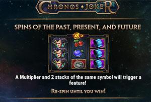 Respin feature on Chronos Joker