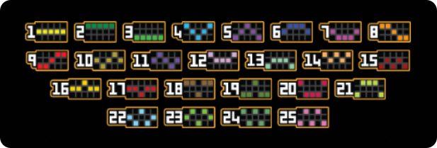 Mobile Slot Game Paytable