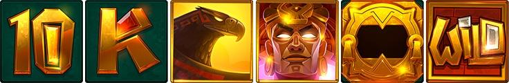 symbole aztec gold megaways™