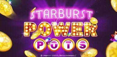 Starburst Power Pots by NetEnt