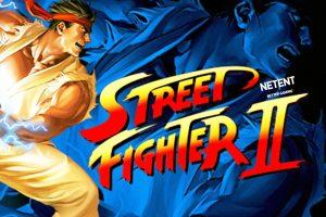 Street Fighter II slot By NEtent