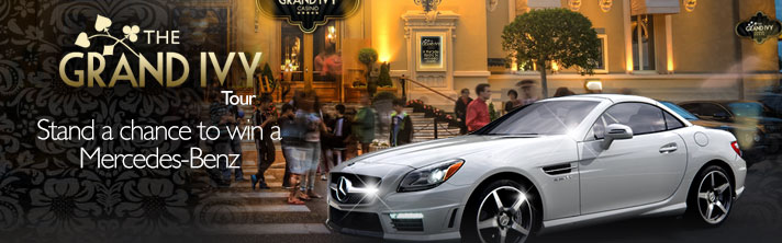 The Grand Ivy Casino - Grand Ivy Tour Promotion