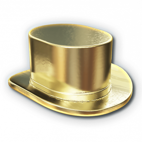 Monopoly Hat token