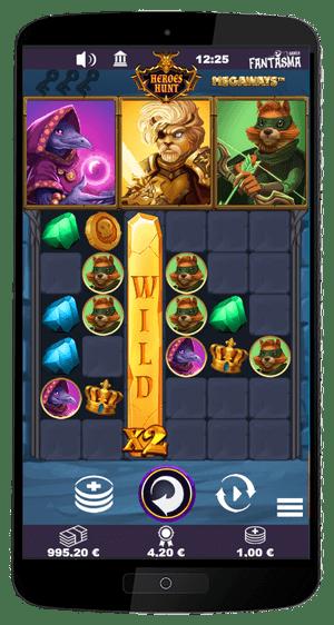 Heroes Hunt Megaways mobile screenshot