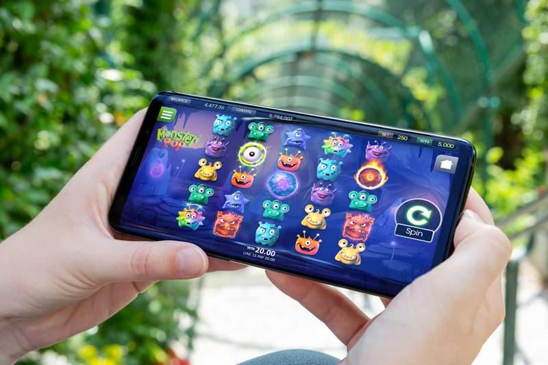 Monster Pop slot mobile screenshot