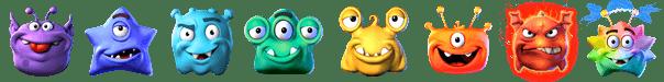 Monster Pop symbols