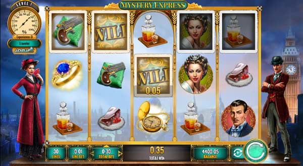 Mystery Express slot by IGT