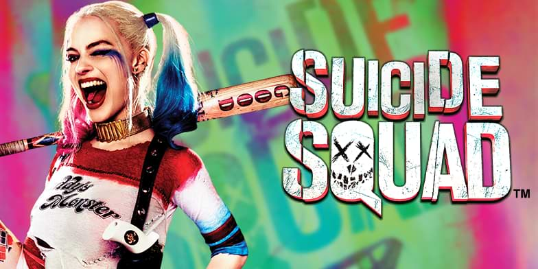 Suicide Squad slot by Playtech