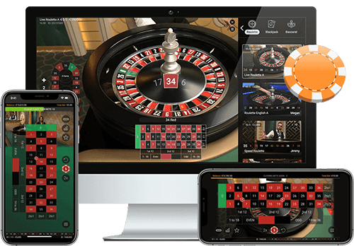Live and mobile roulette