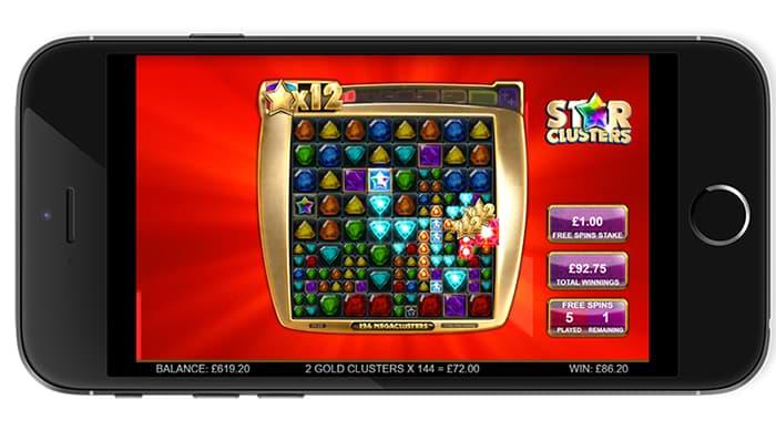Star Clusters Megaclusters™ free games screenshot