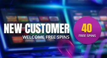 Cashino Welcome Bonus 40 free spins