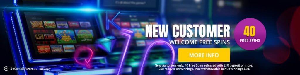 Cashino Welcome Bonus