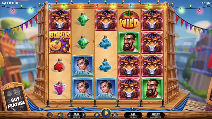 La Fiesta slot screenshot base game