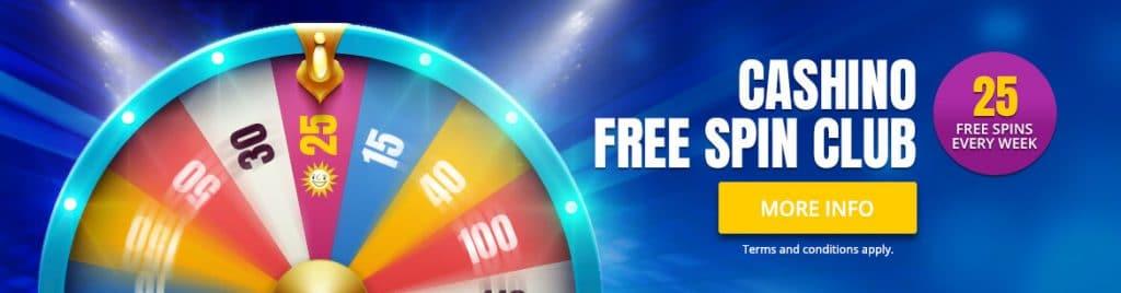 Cashino Free Spin Club