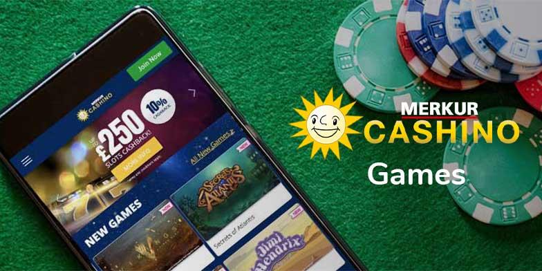 Cashino games selection review