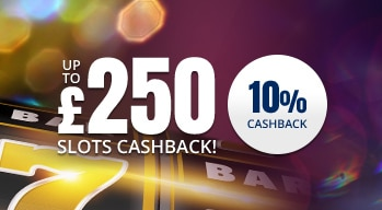 10% cashback up to £250 on Thursdays