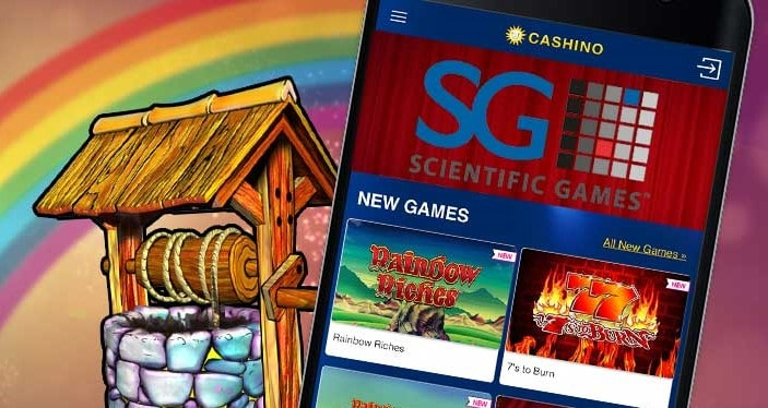 Scientific Games slots such as Rainbow Riches