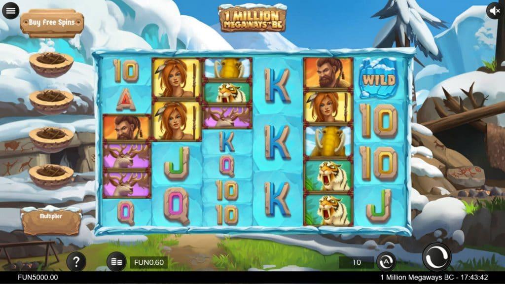 1 Million Megaways™ BC base game screenshot