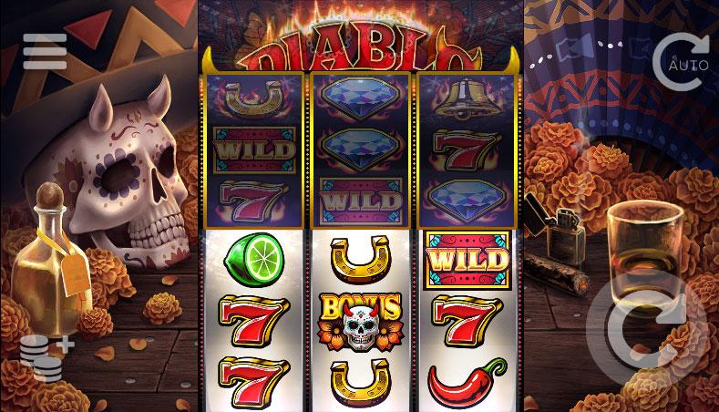 Diablo Reels slot screenshot