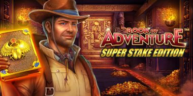 Book of Adventure Super Stake Edition slot review