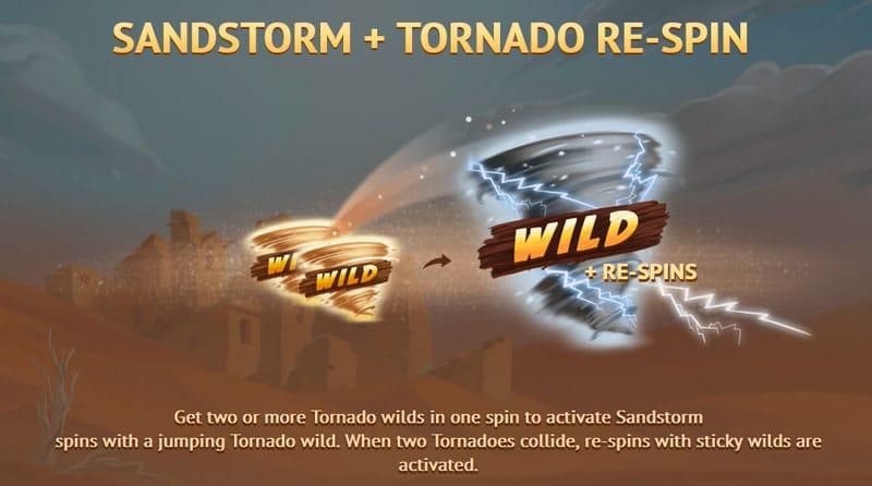Sandstorm and Tornado Re-spin