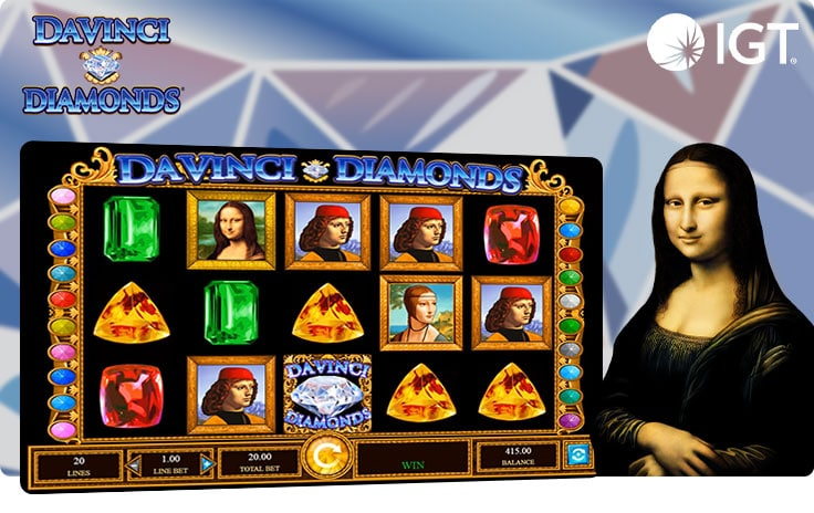 DaVinci Diamonds slot