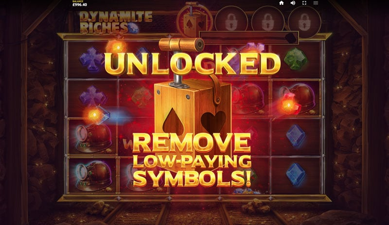 Dynamite Riches feature