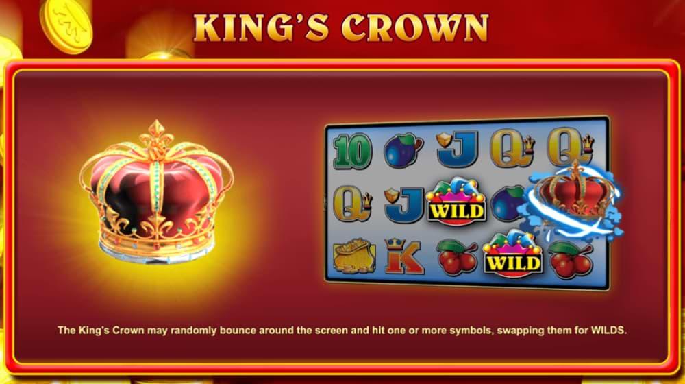 King's Crown bonus game
