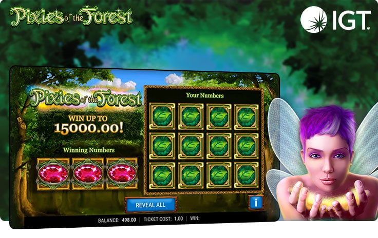 Pixies of the Forest slot by IGT