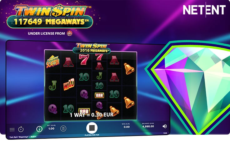 Twin Spin Megaways by NetEnt