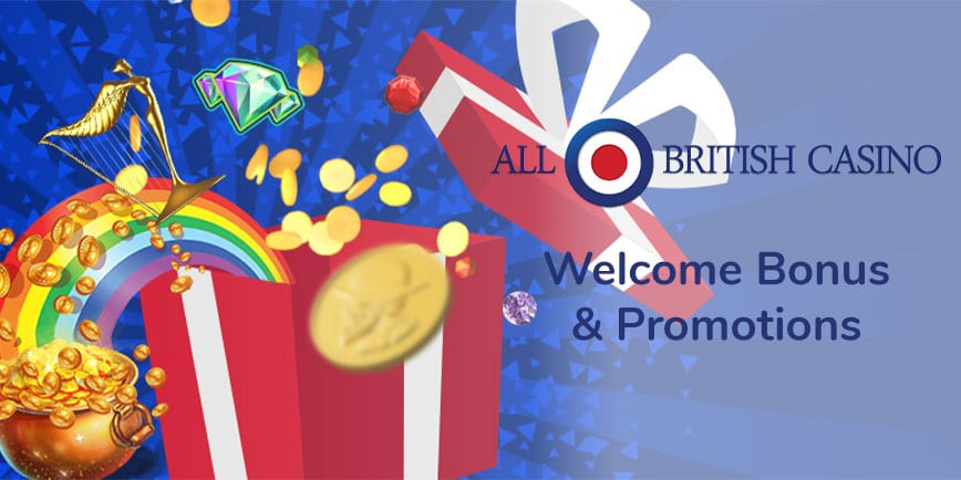 All British Casino Welcome Bonus and Promotions
