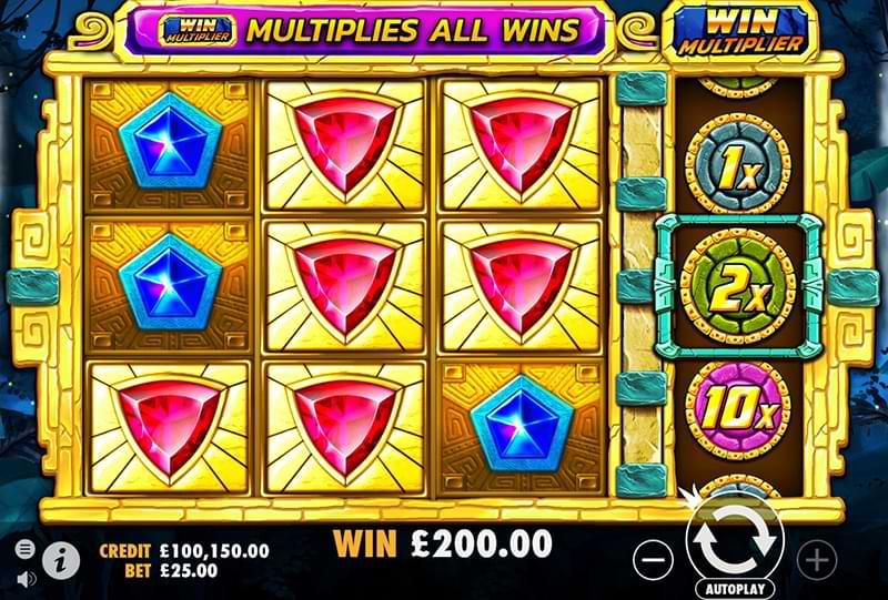 Aztec Gems slot screenshot
