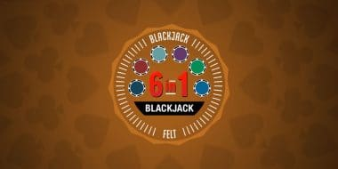 6 in 1 Blackjack by Felt