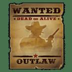 Dead or Alive Sticky Wild symbol